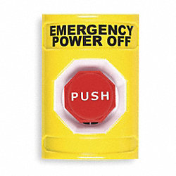 Push Button Switch, Yellow