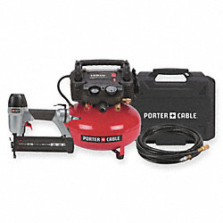 Portable Air Compressor/Nailer Combo Kit