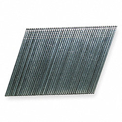 Finish Nail, 15 Ga, 1 1/2 In L, Pk 4000