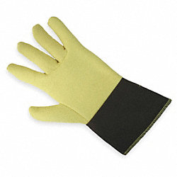 Heat Resist. Gloves, Yellow, XL, PR
