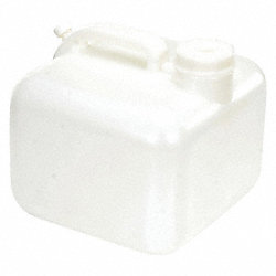 Plastic Carboy, 2.5 Gal, w/Handle and Cap