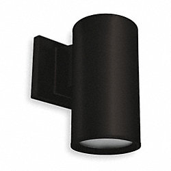 Cylinder Light, Black, LED, 7.8 Watts