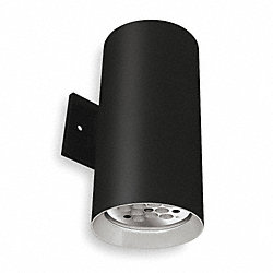Cylinder Light, Black, LED, 13.3 Watts