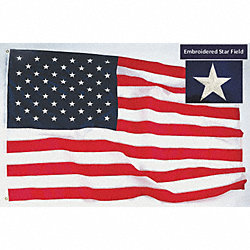 US Flag, 12x18 Ft, Nylon