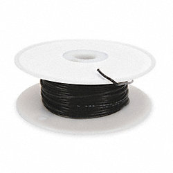 High temp Lead Wire, 18 Ga, Black