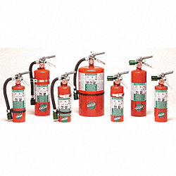 Fire Extinguisher, Halotron, ABC, 2A:10B:C