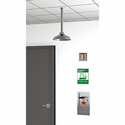 Emergency Shower, Recessed, 20 gpm