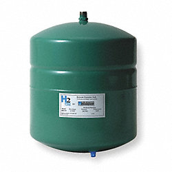 Expansion Tank, 2.1 Gal, 12 1/2H x 8 Dia