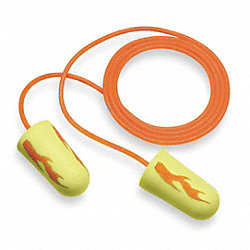 Ear Plugs, 33dB, Corded, Reg, PK200