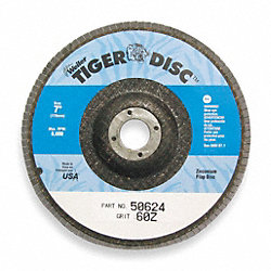 Arbor Mount Flap Disc, 4in, 36, ExtraCoarse