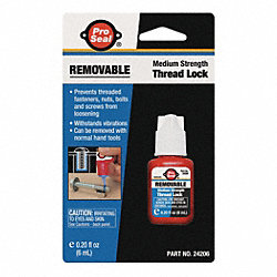 Threadlocker, Removable, 6mL, Blue