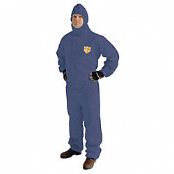 Hooded ProShield(R), Blue, Elastic, L, PK 25