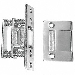 Roller Latch, Satin Chrome