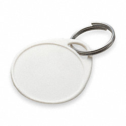 Label-It Tag with Ring, White, PK 25