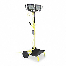 Mobile Worklight , 500 W, 120 V