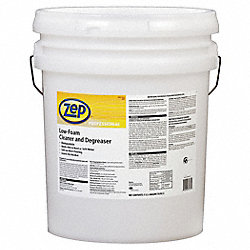Low Foam Floor Cleaner, 5 gal., Citrus, Red