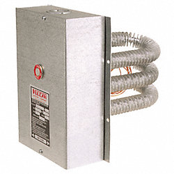 Finned Tubular Air Duct Heater, 480V