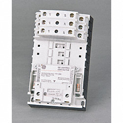 Light Contactor, Elec, 120V, 30A, Open, 6P