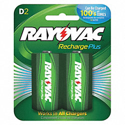 Rechargeable Battery, 3000mAh, PK 2