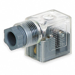 Connector, Coil, 22mm DIN, 24VDC