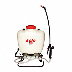 Backpack Sprayer, 4 gal., 90 psi, HDPE