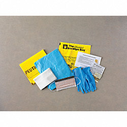 Spill Kit, Clear Ziplock Bag