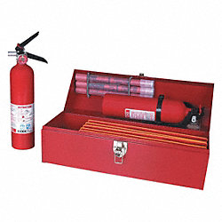 Safety Kit, Hwy Triangles, Fire Ext, Flares