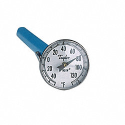 Dial Pocket Thermometer, ABS Plastic