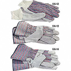 Gloves, Work, Knit Wrist, L, PR
