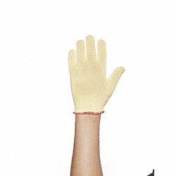 Cut Resistant Gloves, Yellow, XS, PR