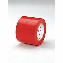 Hazard Marking Tape, Roll, 4In W, 180 ft. L