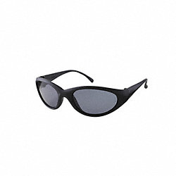Plrzd Eyewear, Black, Smoke Lens