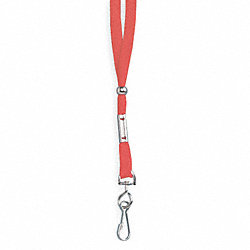 Lanyard, Red, 19 In