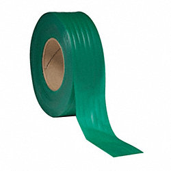 Texas Flagging Tape, Grn, 300ft x 1-3/16In