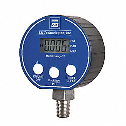 Digital Pressure Gauge, 15 PSI MG-9V