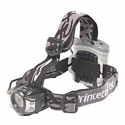 HeadLamp, 4-AA, Black, 9.9 Oz.