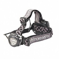 HeadLamp, 3-AA, Black, 8 Oz.
