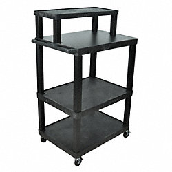 Workstation, Mobile, 32 Wx54 Hx24 D In, Blk
