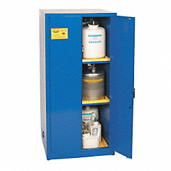 Corrosive Safety Cabinet, 31-1/4 In. D