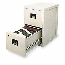 Fire Safe Filing Cabinet, 2 Drawer