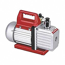 Evacuation Pump, 3.0 cfm, 1/3 HP, 6 ft.