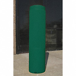 Bollard Ribbed, 52 In H, 10 In Dia, Green