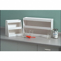 Lab Storage Shelving, 3Comps, 12x12x9In