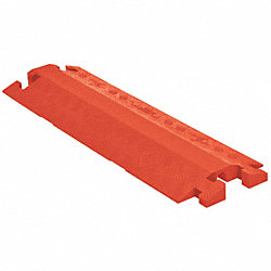 Cable Protector, 11.5 x1.6 In, 3 ft, Orange