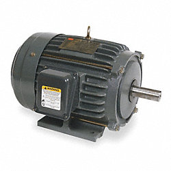 Mtr, 3 Ph, 5 HP, 1755, 208-230/460V, Eff 89.5