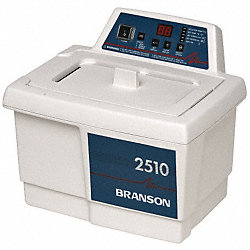 Ultrasonic Cleaner w/DTH, 0.75 gal, 90 min