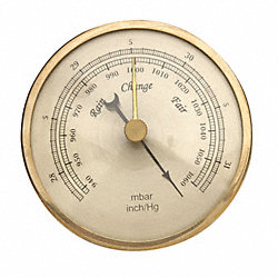 Barometer, Analog, 940 to 1060 mBar
