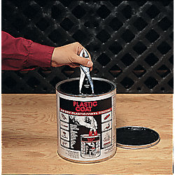 PVC Maintenance Coating, Black, 1 gal