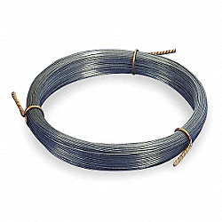 Music Wire, Steel alloy, 10, 0.024 In
