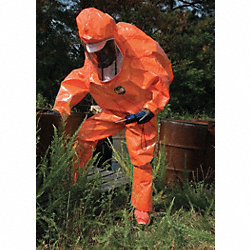 Encapsulated Suit, L/XL, orange, Zytron 500